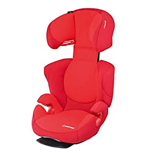 Maxi-Cosi Rodi AirProtect Child Car Seat, Lightweight Highback Booster, 3.5 - 12 Years, 15-36 kg, Vivid Red   8