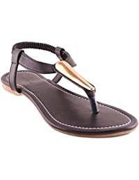 Black Sandals Flats|matte| Black|black| Ladies Flats |Fancy Flats |Women Flats | Ladies Slippers |Girls Slippers...