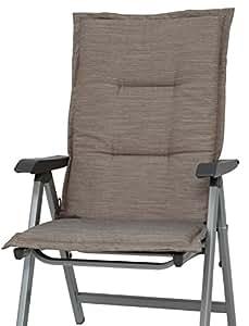 H. g .nN amrum coussin dossier pour fauteuil à dossier haut-tex.-lot de 2