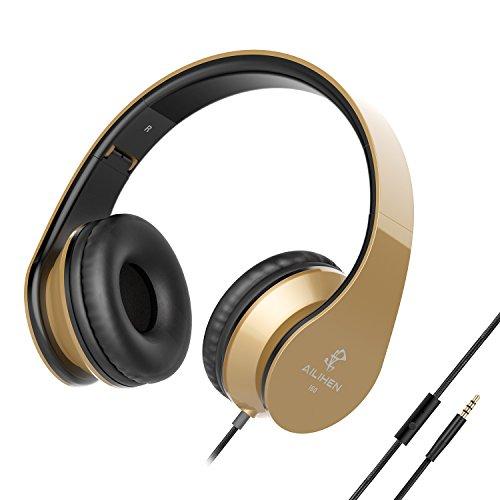 AILIHEN-I60-Kopfhrer-mit-Mikrofon-Faltbare-On-Ear-Kopfhrer-fr-iPhone-Android-Gerte-Laptop-PC-Tablet-Kopfhrer-mit-Schalldmmung-fr-Reisen-Arbeit-Musik