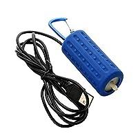 Lesgos USB Aquarium Air Pumps, Portable Mini Aquarium Oxygen Air Pump For Fish Tank, Mute High Energy Saving Compressor Kit