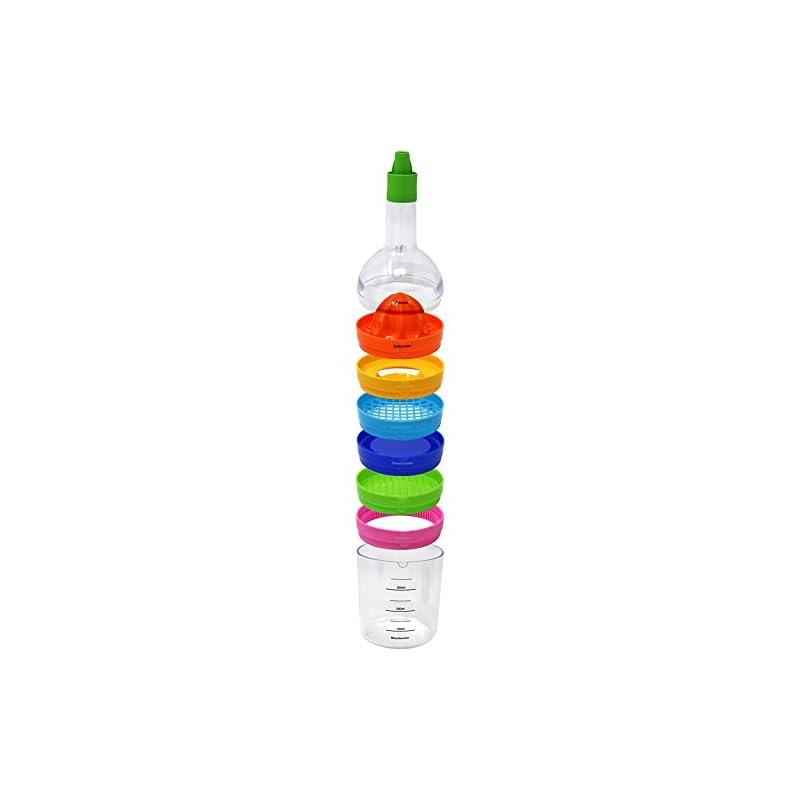 Com Four Kchenhelfer 8 In 1 In Flaschen Form