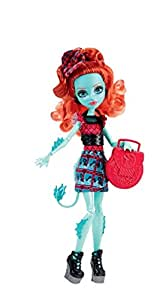 Monster High - CDC36 - Poupée Mannequin - Lorna Mcnessie - Echange Monstrueux