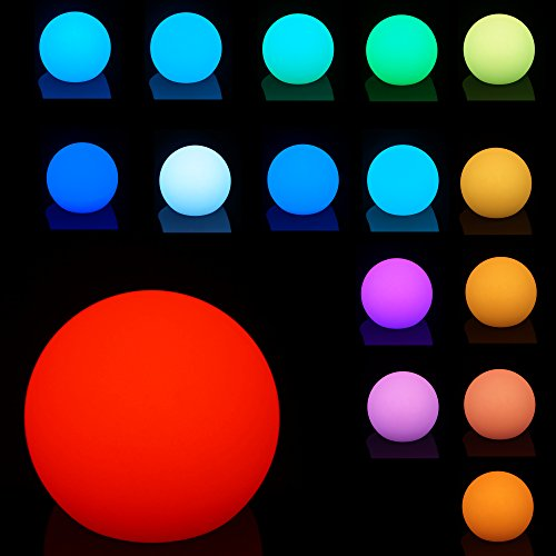 Mr.Go Waterproof Floating RGB Globe Lamp Color