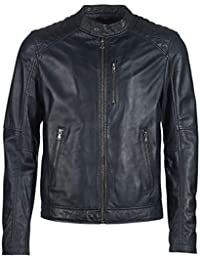 Amazon.it: giacca in pelle uomo Oakwood Giacche