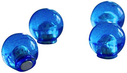 Preisvergleich Produktbild Franken HMK1403 Magnetkugel Durchmesser 14 mm, Haftkraft 400 g, 4 Stück, dunkelblau
