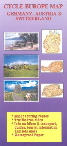 Cycle Europe Map: Germany, Austria and Switzerland (Cycle Europe maps) por Richard Peace