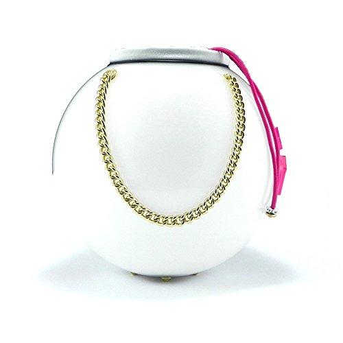Moon Bag la borsa da Donna Millennium Star più innovativa e affascinante di sempre. Un tocco e si illumina - 100% made in Italy bianca