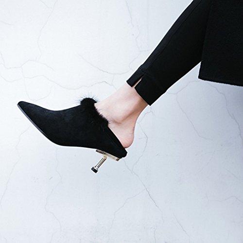 Europei e UN Stivali Martin Stivali Invernali Americani Due con da Gli Tacchi Donna Indossavano Alti PZ7qffwB