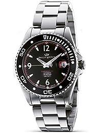 Philip Watch R8223107125 - Reloj de caballero automático, correa de acero inoxidable color plata