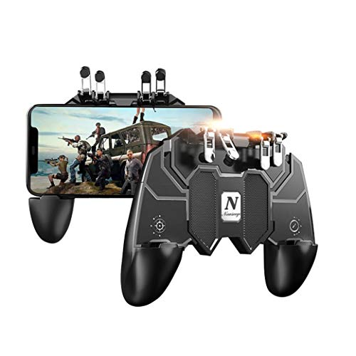 Newseego Mobile Game Controller,[Upgrade] Telefoncontroller-Gamepad mit L1R1