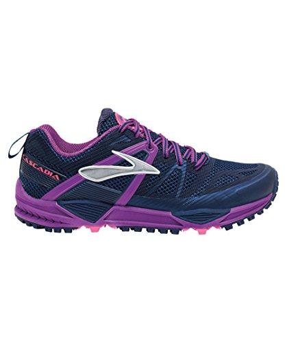 Brooks Cascadia 10, Scarpe sportive,Donna marine - violett - rosa