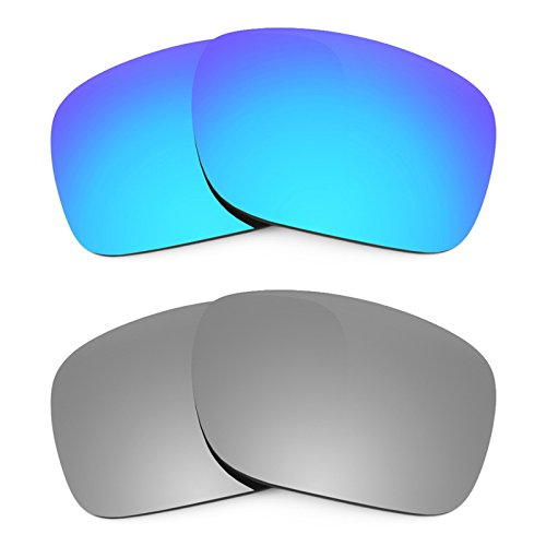 Revant Ersatzlinsen für Oakley Holbrook Polarisiert 2 Paar Kombipack K004 (Holbrook Oakley Ersatz)