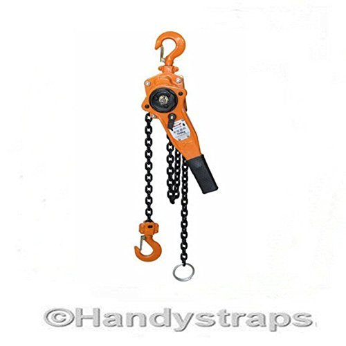 500Kg 0.5 ton Lever Hoist Block ratchet winch pull lift 1.5 metre Test