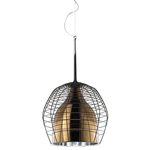 Diesel With Foscarini Cage Grande Lampe Suspendue Brune/Bronze