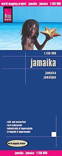 Preisvergleich Produktbild Reise Know-How Landkarte Jamaika (1:150.000): world mapping project