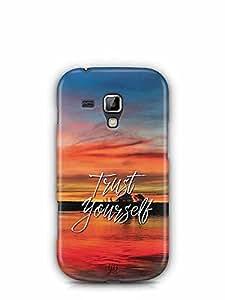 YuBingo Trust Yourself Designer Mobile Case Back Cover for Samsung Galaxy S Duos 2