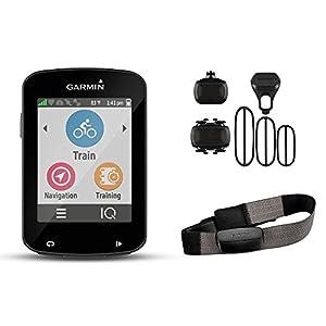 navigation system: Garmin Edge 820 Bundle Ordenador para Bicicletas, Negro