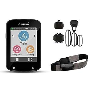 Garmin Edge 820 Bike GPS incl. Premium RF Chest Belt + Speed/Cadence Sensors, Black