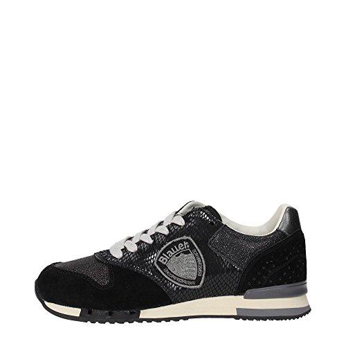 Blauer USA Worunori Damen Sneakers Schwarz