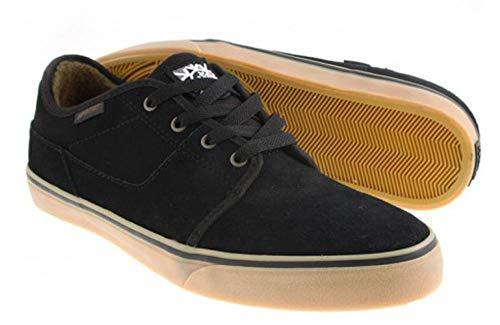 Habitat Skateboard Schuhe Quest FP Black/Gum Model FP Quest Color: Black / Gum Upper: leather Lining: Textile Sole: Other, Schuhgrösse:36.5