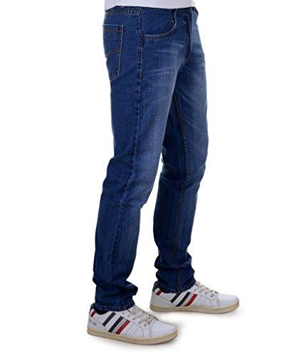 Ben Martin Men's Regular Fit Denim Jeans (BMW7-JJ-3-BLUE_34)