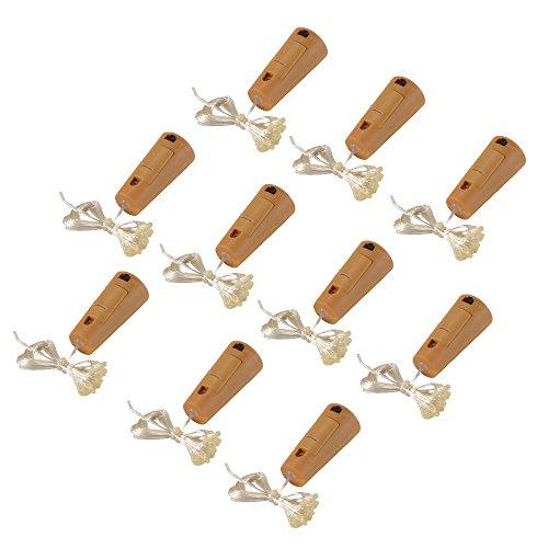 XCSOURCE® 10Stk Kork-Form Bar String LED-Leuchten für Weinflasche Glasdekor Kupferdraht DIY Lichter Warmweiß Für Party Festival LD978