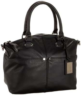 Tignanello sac à main pour femme en cuir véritable noir