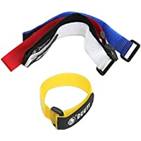 Ruiting 5PCS Bandas Correa de Velcro Ajustable para MTB Bici Bicicleta