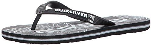 Quiksilver Herren Molokai Nitro Sandalen Grey/Black/Grey