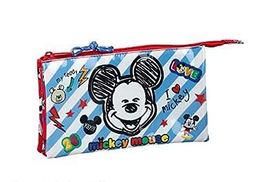 """Mickey Mouse """"Maker"""" Oficial Estuche Escolar 220x30x100mm por Safta"""