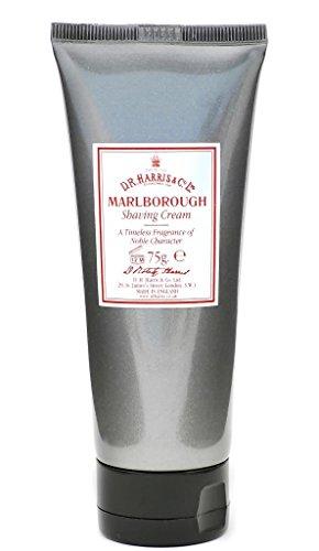 D R Harris Marlborough Tube de crème à raser 75 ml