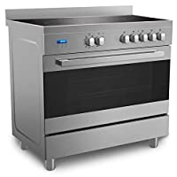 Midea VSVC96048 90 X 60  cm Ceramic Cooker with Schott Glass and Full Safety