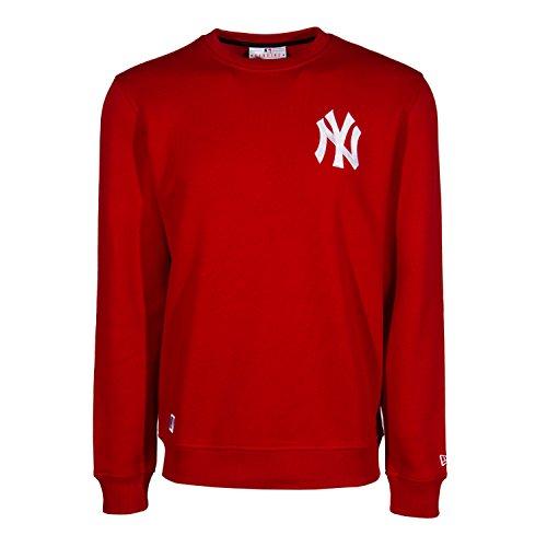 Sudadera New Era – Mlb Crew Neck New York Yankees rojo talla: S (Small)