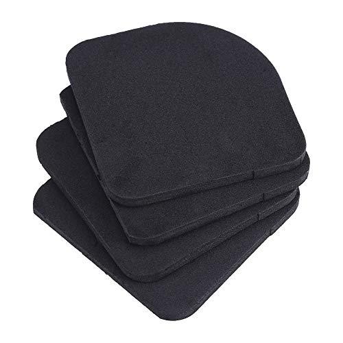 4Pcs Anti Vibration Pads Universal Gummi Silent Füße Pads für Waschmaschine Kühlschrank Haus Appliance