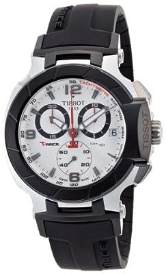 Tissot T-RACE T0484172703700 - Reloj de caballero de cuarzo, correa de acero inoxidable color gris