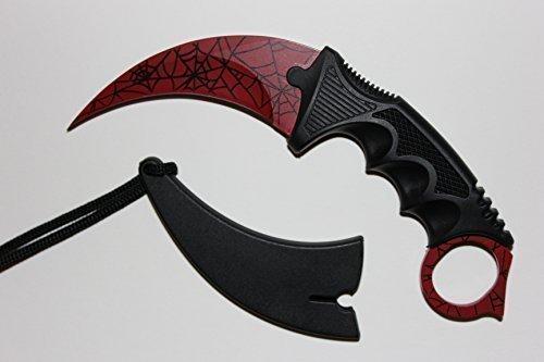 Preisvergleich Produktbild Echt Crimson Web Messer (Counterstrike Global Offensive) – UK gesetzlichen
