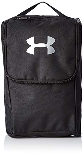 Under Armour UA - Bolsa para zapatos, Unisex Adulto, Negro (Black/Silver 001) Talla única