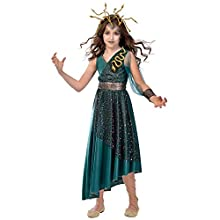 amscan 9903557 Little Medusa Costume - Age 8-10 Years - 1 Pc