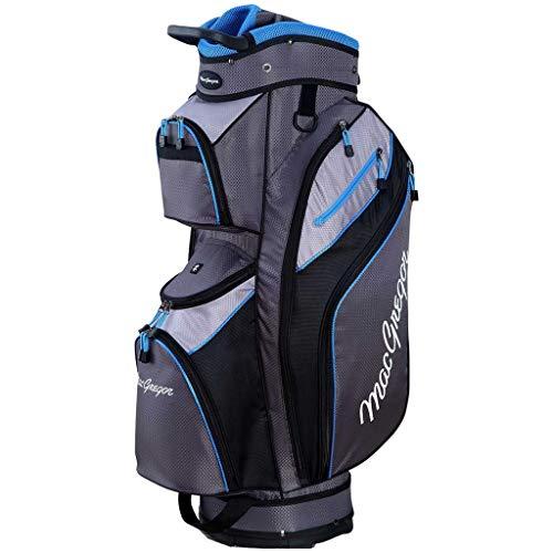 MacGregor MT Sac de Golf pour Homme Gris/argenté/Bleu 9,5'