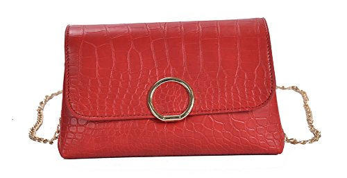 A&N - Borsa a tracolla Donna Red