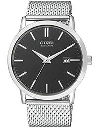 Citizen Herren-Armbanduhr Analog Quarz Edelstahl BM7190-56H