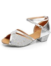 f478c0b268540 Amazon.fr   Argenté - Mocassins   Chaussures fille   Chaussures et Sacs