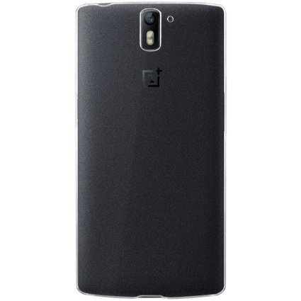 Plus 0.3mm Transparent Silicon Back Cover For Oneplus One