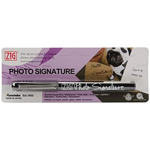 Zig Photo Signature marqueur (emballé)-noir