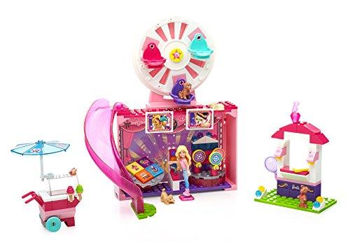 Mega Bloks Barbie Puppy Adventure Festival Toy