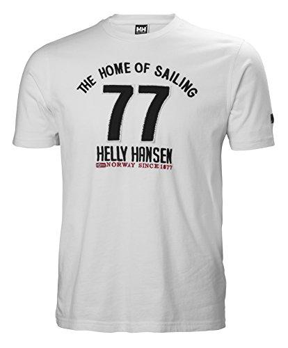 Helly Hansen Herren HH Norse Ss Tshirt, 001 White, 2XL (Helly Hansen-2xl)