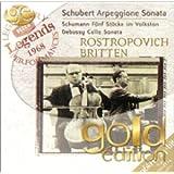 """Schubert : Sonate """"Arpeggione"""" - Schumann : Cinq pièces dans le style populaire - Debussy : Sonate pour violoncelle et piano"""