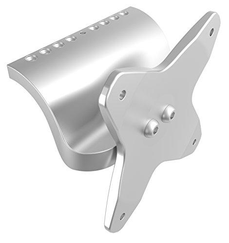 RICOO iMac Zubehör Non VESA Adapter Kit für Monitorhalterung Ständer VA-MAC Bildschirm für Monitor bis 2013 Display bis 27 Zoll TV und Monitor Wandhalterung Tischhalterung bis VESA 75x75 Silber -