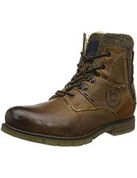 370fe1b470d2e Amazon.es  Piel - Botas   Zapatos para hombre  Zapatos y complementos